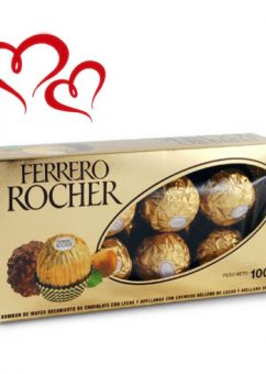 Caja de Chocolates Ferrero Rocher 8 Unidades