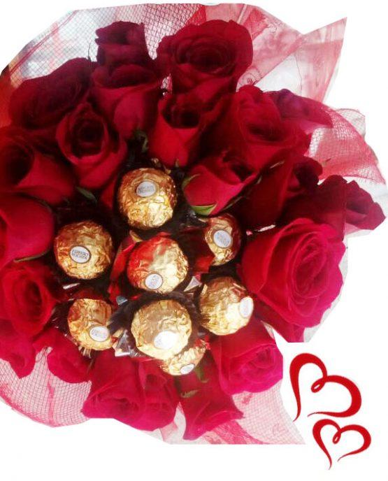 ramo-rosas-chocolates