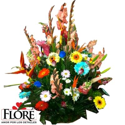 Arreglo de Flores Bora Bora
