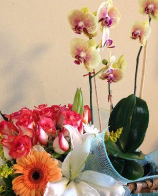 arreglo-rosas-y-orquídeas