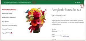 compra de arreglo floral