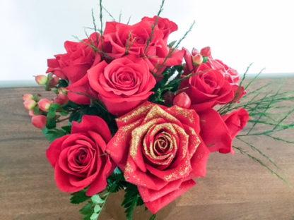 Rosas Glitter