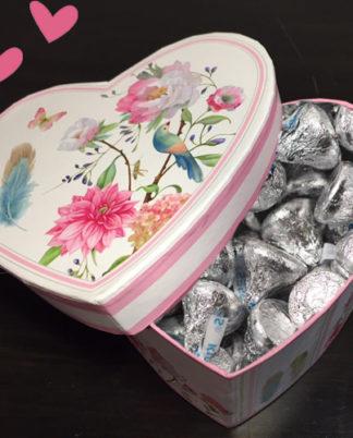 corazón de kisses