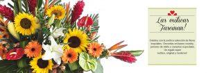 Exóticos arreglos con flores tropicales