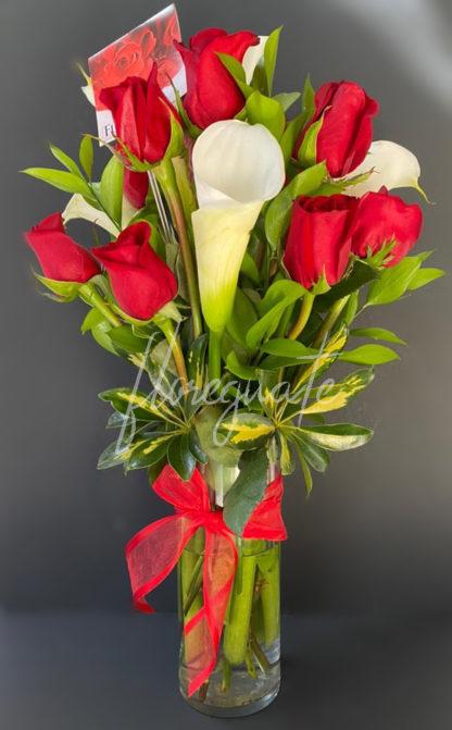 Rosas con Cartuchos