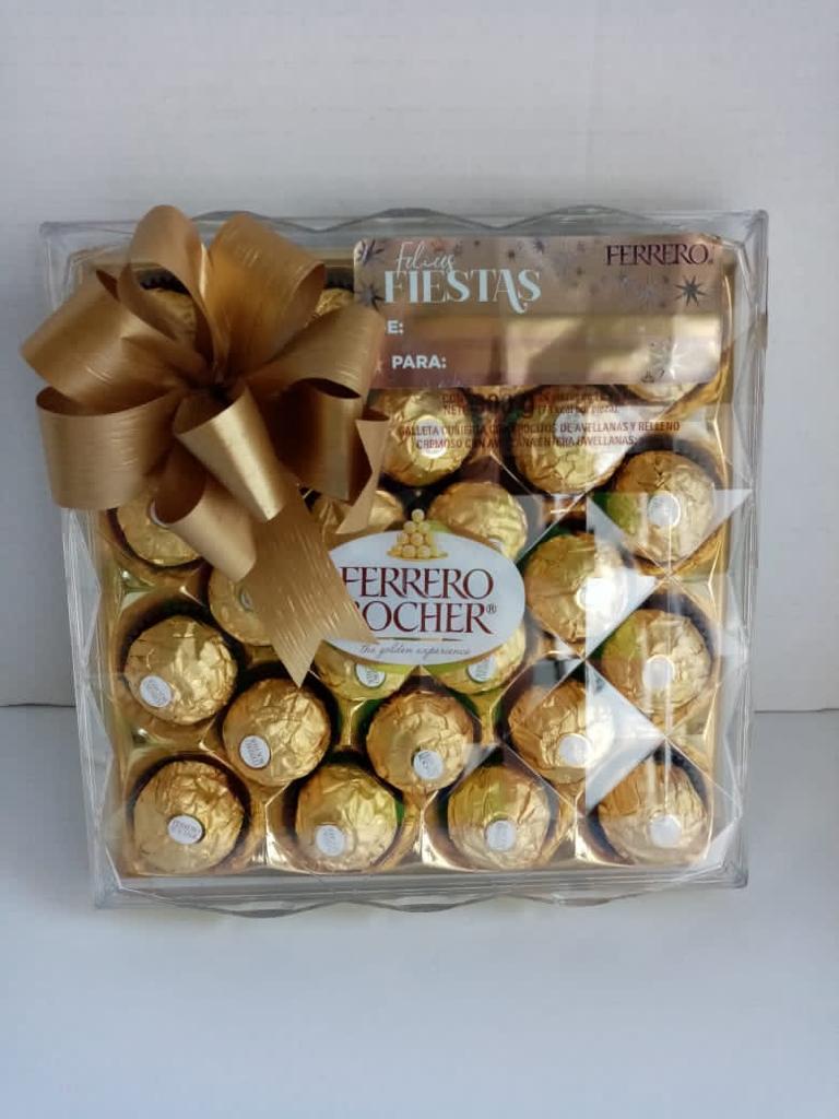 Caja de Ferrero Rocher